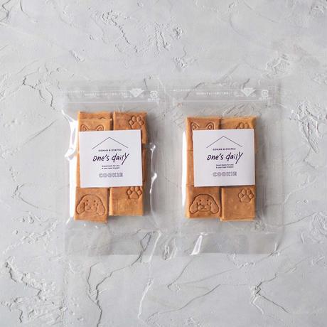 ワンコ顔の刻印!米粉のおからクッキー2袋《ネコポス利用お得2袋セット》※送料込み商品