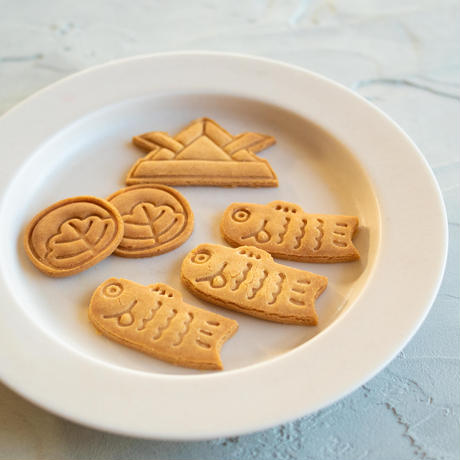 数量限定!米粉のこどもの日クッキー(きな粉)