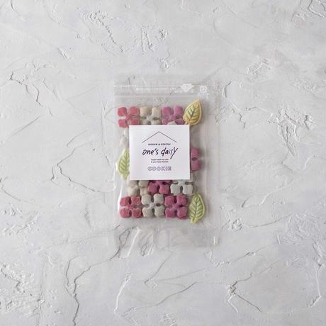 【期間限定】米粉の紫陽花クッキー2袋&おから&きな粉《ネコポス利用お得4袋セット》※送料込み商品