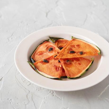 【季節限定】他では味わえない新食感!ドライすいか&アップル《ネコポス利用お得2袋セット》※送料込み商品