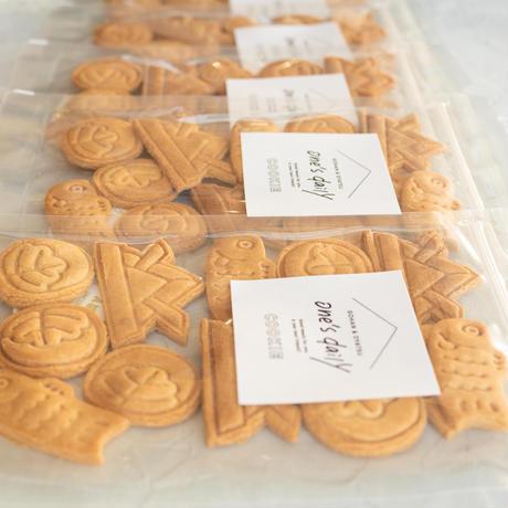 数量限定!米粉のこどもの日クッキー(きな粉)2袋【ネコポス利用お得2袋セット】