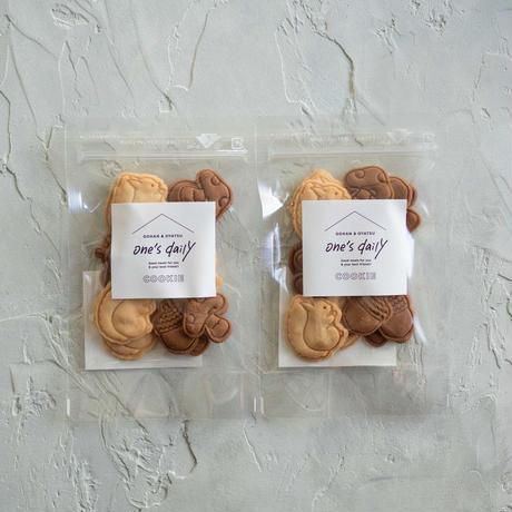 【期間限定】米粉のリスとどんぐりクッキー2袋《ネコポス利用お得2袋セット》※送料込み商品