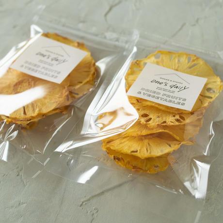【季節限定】芯まで甘い!ドライ台湾パイン2袋《ネコポス利用お得2袋セット》
