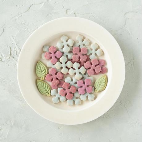 【期間限定】米粉の紫陽花クッキー&ドライ台湾パイン《ネコポス利用お得2袋セット》