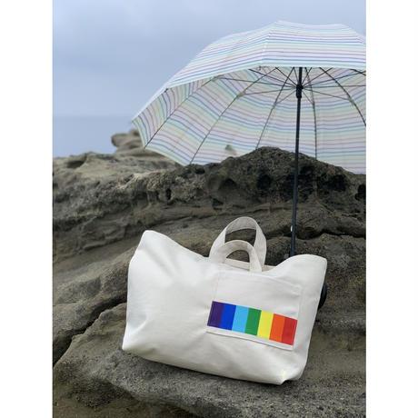 New 帆布トートバッグ Rainbow