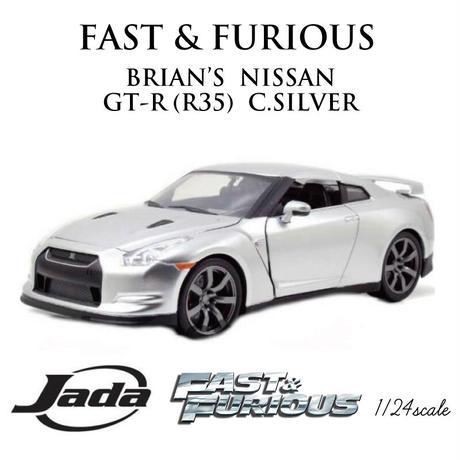 ワイルド・スピード BRIAN'S NISSAN GT-R JadaToys 1: 24