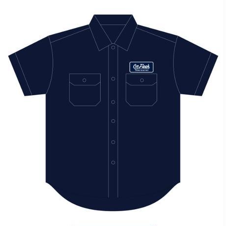 OnFleekワークシャツ(半袖)