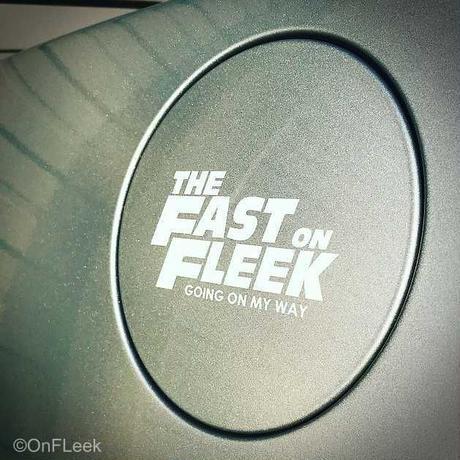 THE FAST ON FLEEK カッティングステッカー(SMALL)