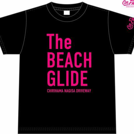 The BEACH GLIDE Tシャツ(ブラック:ピンク)