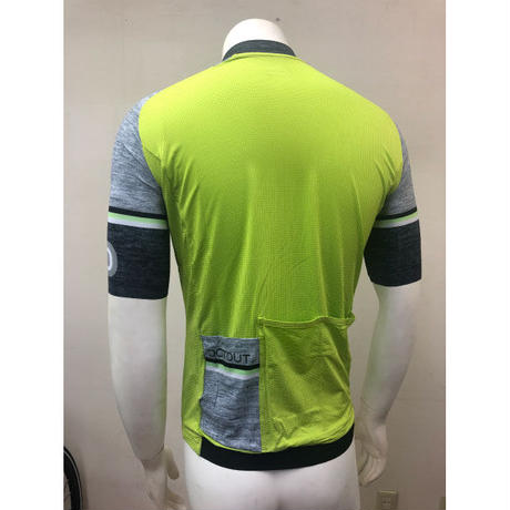 DOTOUT Fusion Jersey Men's Lime-merange Darkgrey Lサイズ
