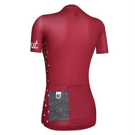 DOTOUT Galaxy W Jersey  Woman's RED Sサイズ