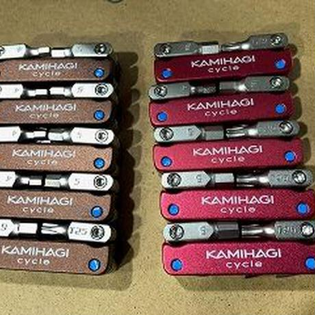 KAMIHAGI CYCLE オリジナル携帯ツール ブラウン