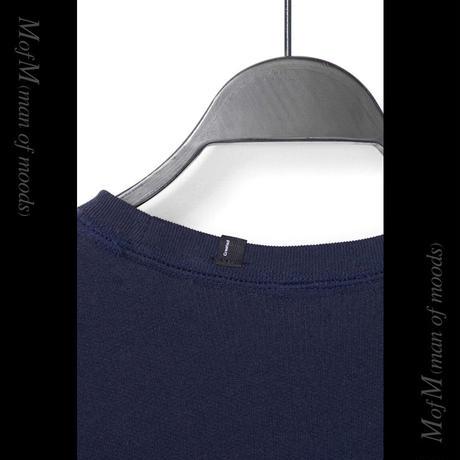 MofM(man of moods) オリジナルビッグシルエットTシャツ(NAVY)