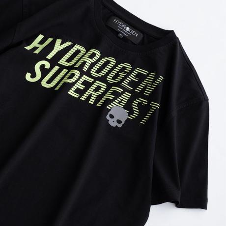 HYDROGEN SUPERFAST TEE(BLACK)