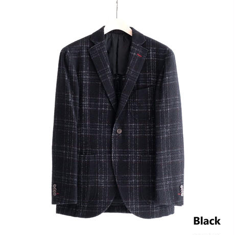 FEEL EASY ORIGINAL W-FACE CHECK JACKET(Black)