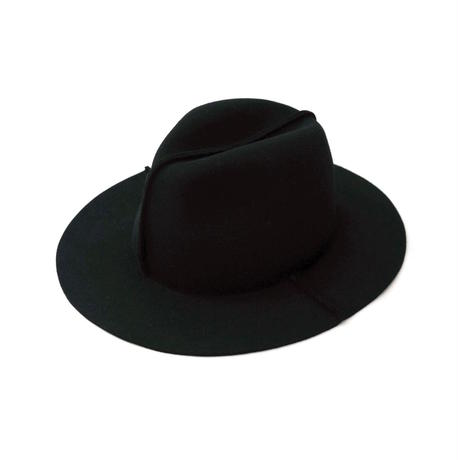Iroquois FELT HAT(BLACK)