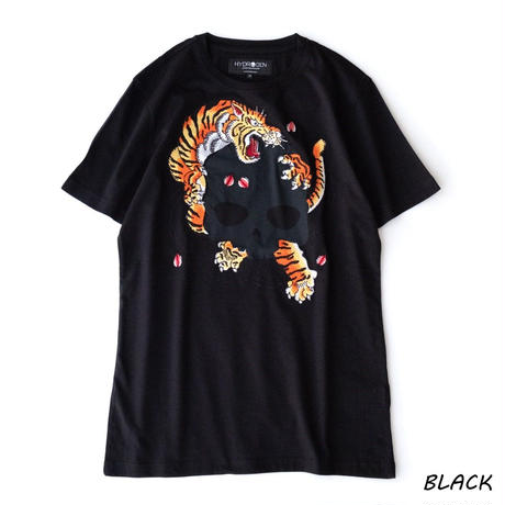 HYDROGEN TIGER HORIOKAMI TEE(BLACK)