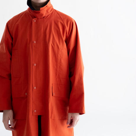 nuterm Wind Coat(Blood Orange)