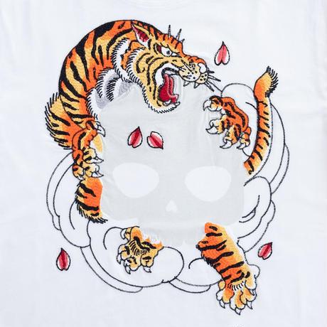 HYDROGEN TIGER HORIOKAMI TEE(WHITE)