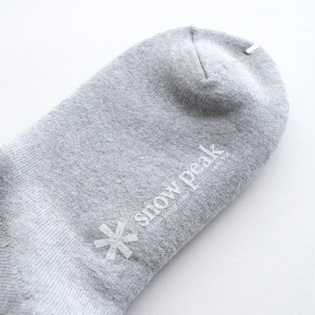 Snow Peak Full Pile Sox Long(White/Gray/Black)