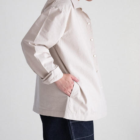 Snow Peak BAFU Cloth Shirt Jacket(Ivory)