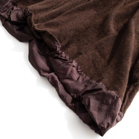 DISCOVERED FULLING COAT(BROWN)