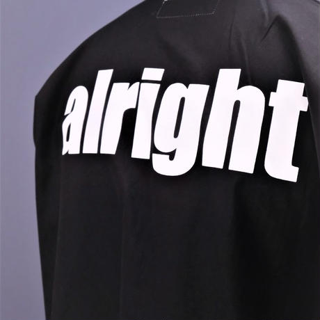 "DISCOVERED ""ALRIGHT""SHIRT(BLACK)"