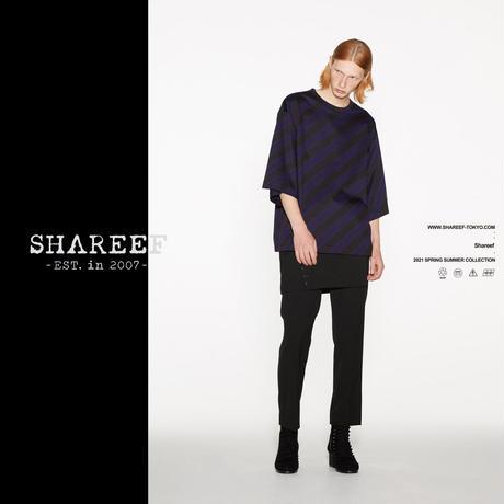 SHAREEF BIAS LINE JQ BIG T(Black×Navy)
