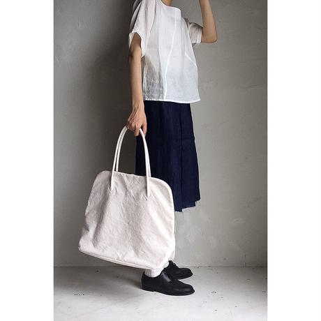 【WOMEN'S】THE FACTORY シルババッグM(O.White)