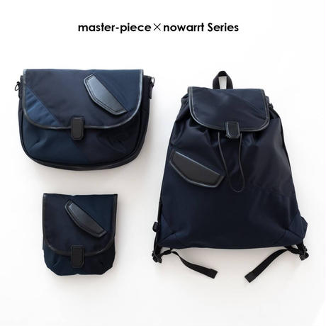 master-piece×nowartt ショルダーバッグ S(NAVY)