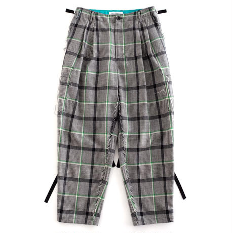 DISCOVERED CHECK PANTS(GREEN CHECK)