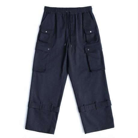 SHAREEF CARGO PANTS(Black)