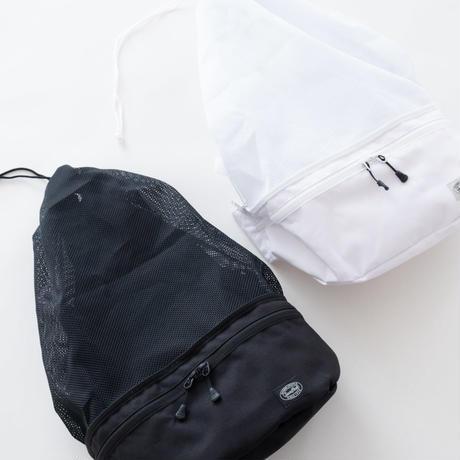 Snow Peak Active Mesh 2way Bag(Black/White)