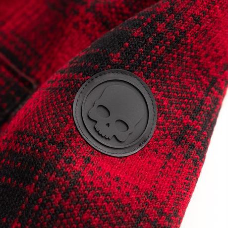 HYDROGEN CARDIGAN(RED×BLACK CHECK)