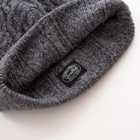 Snow Peak Alpaca Knit Cap(Ecru/Gray/Maroon)