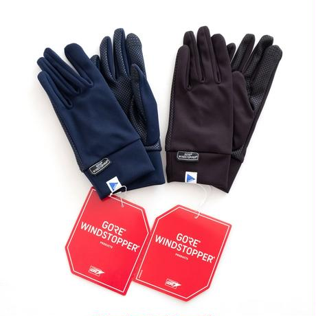 02DERIV. WINDSTOPPER Glove(BLACK)
