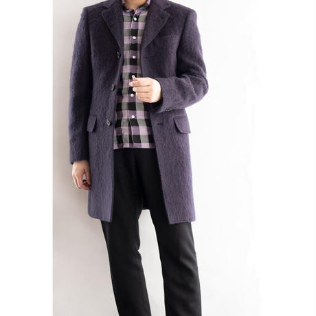 FEEL EASY ORIGINAL MOHAIR CHESTER COAT(Navy)