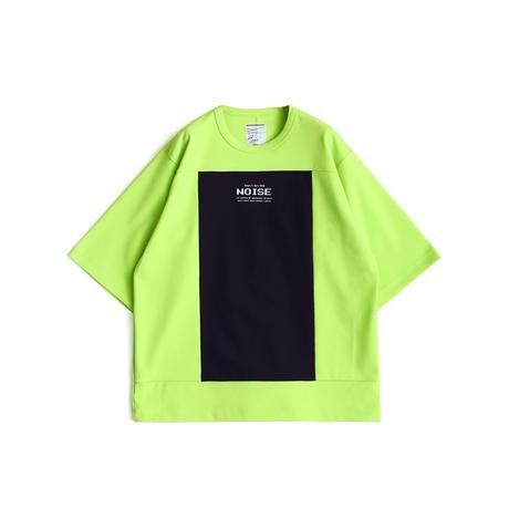 SHAREEF MILAN RIB SQUARE S/S(Lime Green)