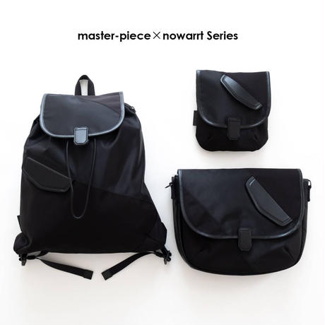 master-piece×nowartt ショルダーバッグ S(BLACK)