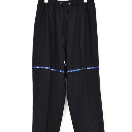 DISCOVERED NAME TROUSER PANTS(BLACK)