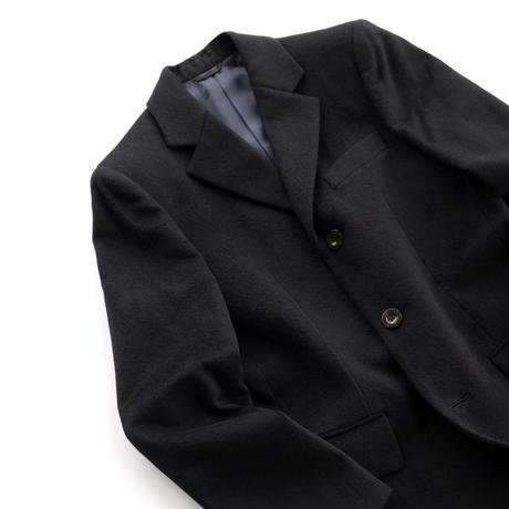 FEEL EASY ORIGINAL WOOL CASHMERE CHESTER COAT(Black)