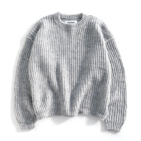 DISCOVERED KID MOHAIR KNIT(GRAY)