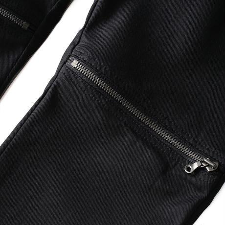 SHAREEF ZIP-SLIT SKINNY(Black)