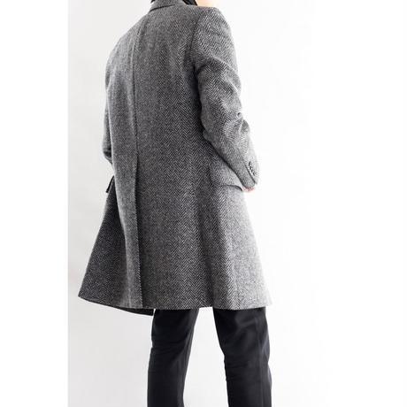FEEL EASY ORIGINAL HERRINGBONE CHESTER COAT(Gray)