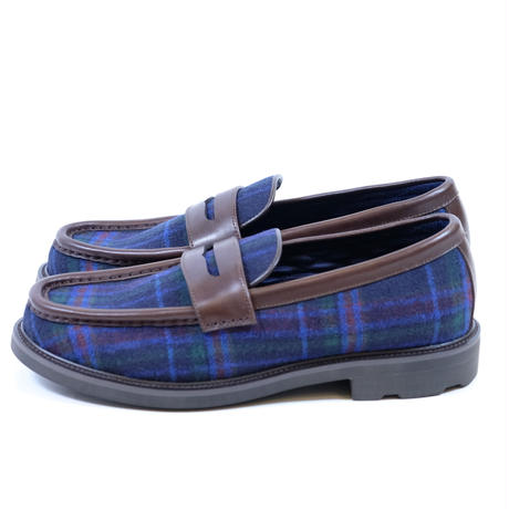 42ND ROYAL HIGHLAND ローファー Tartan(BLUE)