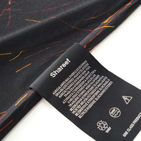 SHAREEF SPARK PATTERN BIG-T(Black)