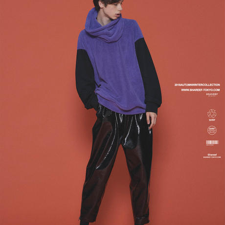 SHAREEF POLYESTER MOLE PULL OVER(REMOVABLE NECK)(Lavender)