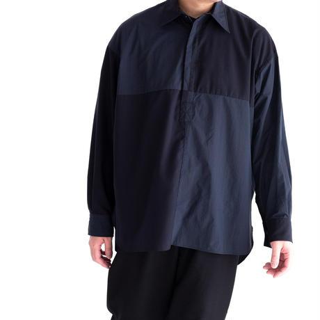 UNITUS Paneled Darby Shirt(Navy)