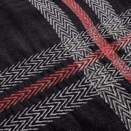 Iroquois HERRINGBONE JQ STOLE(BLACK)