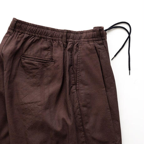 nuterm Two Tuck Easy Shorts(Brown)